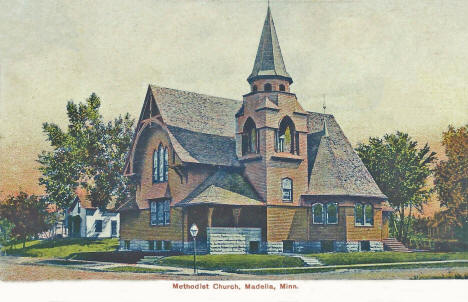 Methodist Church, Madelia Minnesota, 1910