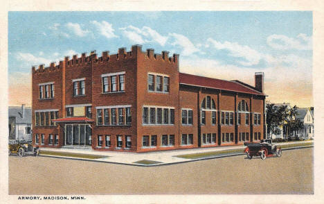 Armory, Madison Minnesota, 1920's