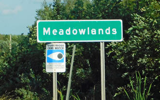 Meadowlands sign