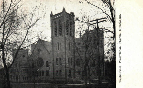 Westminister Presbyterian Church, Minneapolis Minnesota, 1908