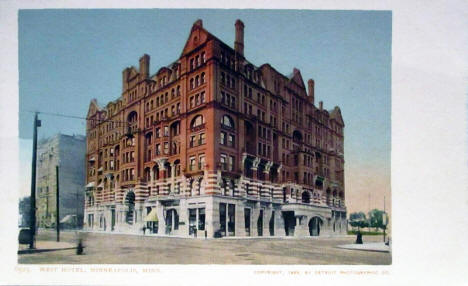 West Hotel, Minneapolis Minnesota, 1903