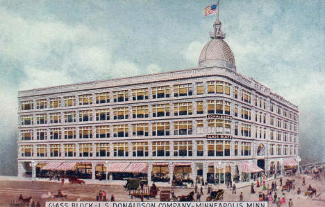 Donaldson's Glass Block, Minneapolis Minnesota, 1908