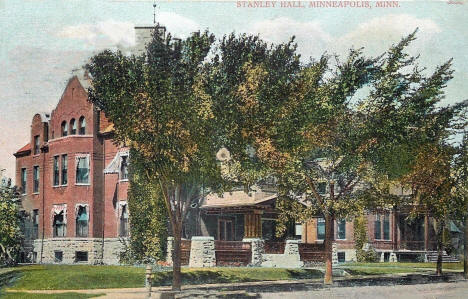 Stanley Hall, 2122 Pleasant Avenue South, Minneapolis Minnesota, 1907