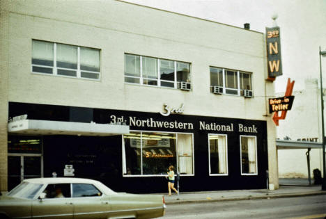 3rd Northwestern National Bank, Central and East Hennepin, Minneapolis Minnesota, 1970's