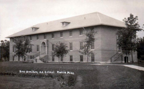 Boys Dormitory at the Agricultural College, Morris Minnesota, 1920's