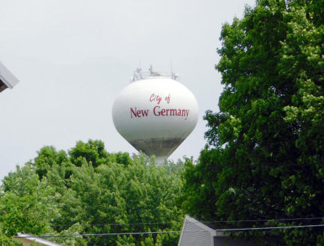 Water Tower, New Germany Minnesota, 2020