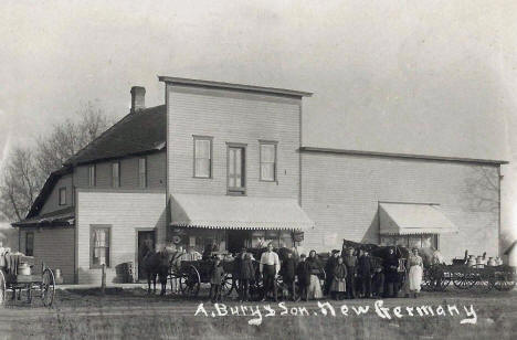 A. Bury and Son, New Germany Minnesota, 1910's