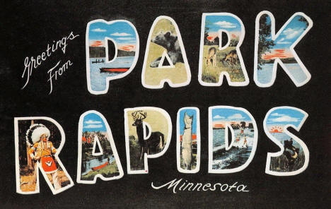 Greetings from Park Rapids Minnesota, 1959