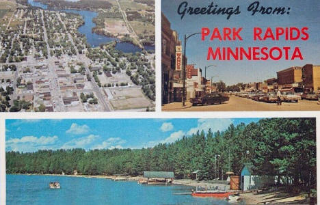 Greetings from Park Rapids Minnesota, 1960's