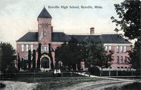 Renville High School, Renville Minnesota, 1908