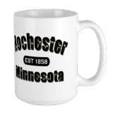 Rochester Established 1858 Large Mug