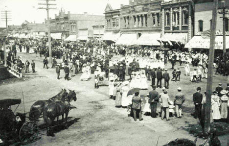 Fourth of July in Springfield Minnesota, 1904