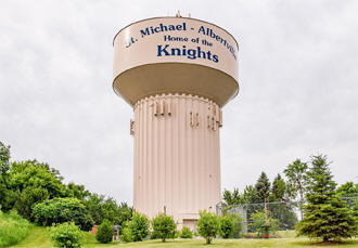 Water tower, St. Michael Minnesota