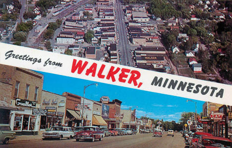 Greetings from Walker Minnesota, 1960's