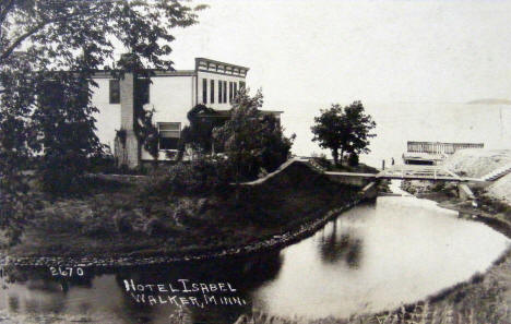 Hotel Isabel, Walker Minnesota, 1926