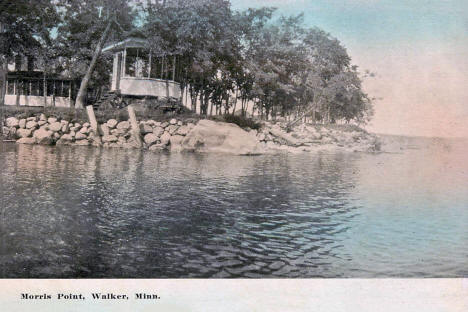 Morris Point, Walker Minnesota, 1908