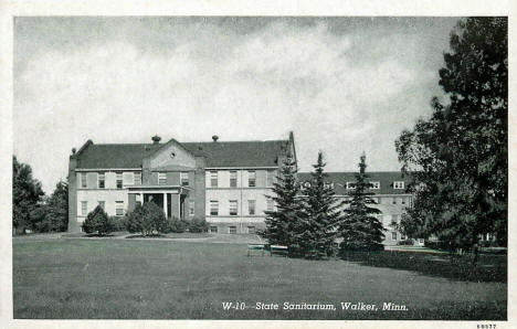 State Sanitarium, Walker Minnesota, 1946
