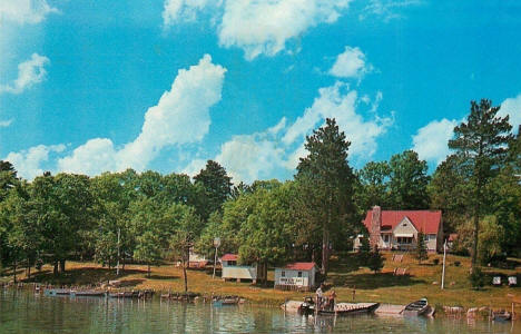 Moon Lite Bay Lodge, Walker Minnesota, 1950's