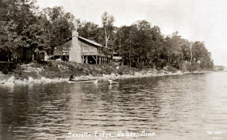Merritt's Lodge, Walker Minnesota, 1929