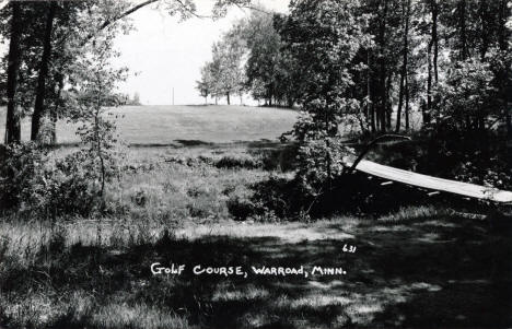 Golf Course, Warroad Minnesota, 1960's