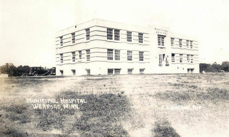 Municipal Hospital, Warroad Minnesota, 1940's